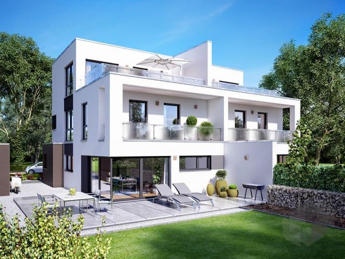 Das Bauhaus Gemello FD 280 von Büdenbender Hausbau