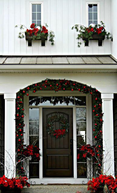 Christmas Front Door Front Door Christmas Decorations Christmas