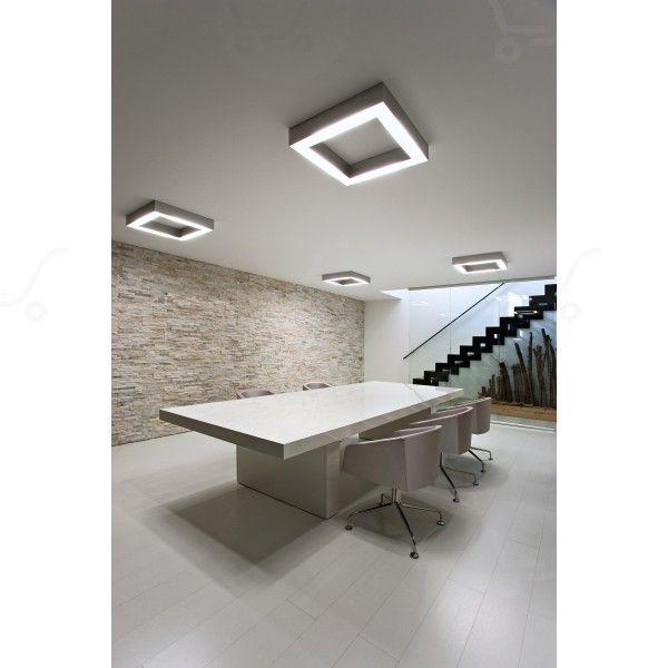 Profil C Complete element quadrato Lampada a soffitto