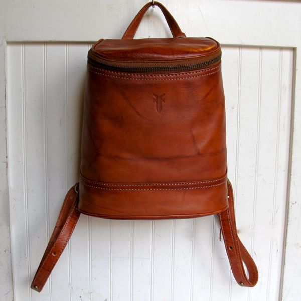 Frye Campus Small Backpack in saddle leather | Bag Lust | Pinterest