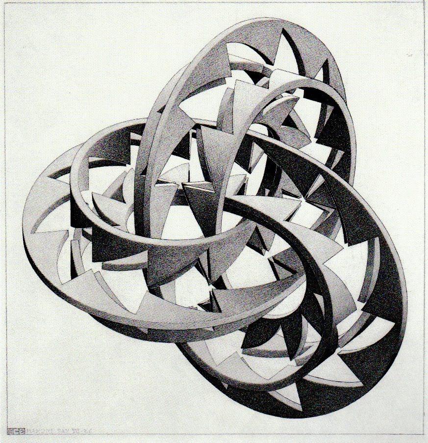 Lanzfeld Brillenetui MC Escher Art