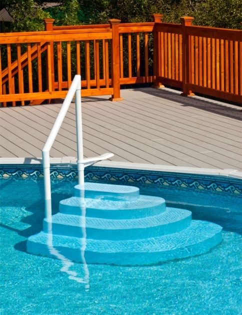 Above Ground Pool Stairs Steps And Ladders Pool steps