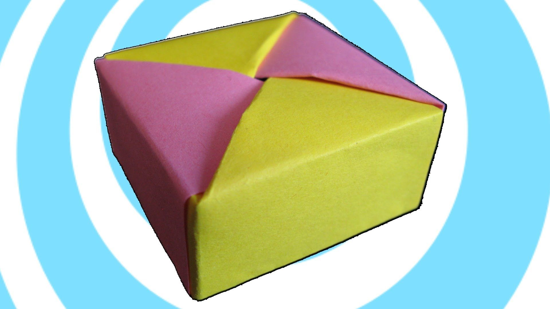 hight resolution of modular origami box with lid instructions tomoko fuse