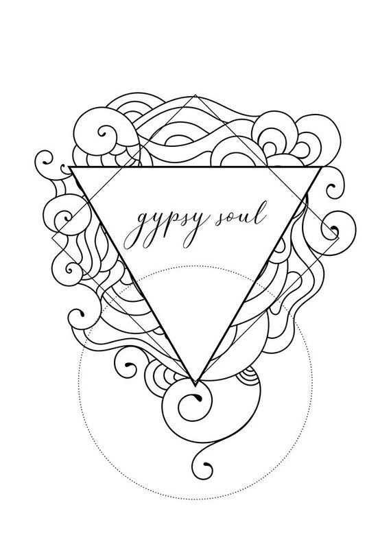 Sacred geometry zentangle inspired coloring pages with ...