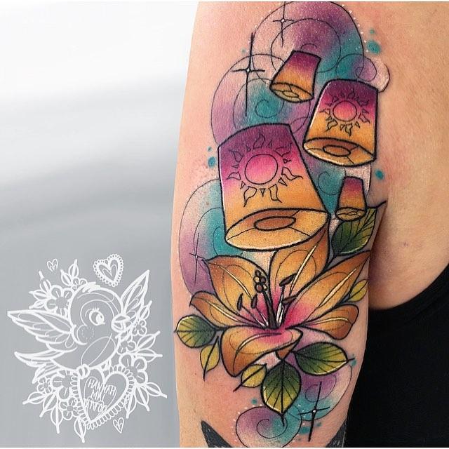 Pin By Milena Faith On Tattoos Tangled Tattoo Rapunzel Tattoo Disney Tangled Tattoo