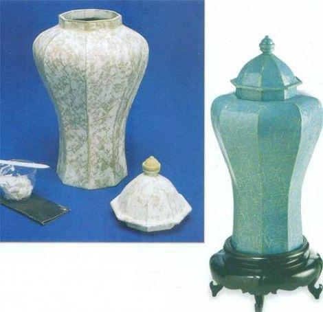 Jarrones de decoracion jarrones o floreros pinterest for Decoracion de jarrones