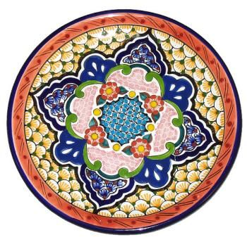 Mexican Plates  sc 1 st  Pinterest : decorative mexican plates - pezcame.com