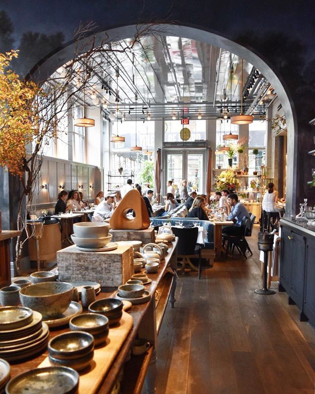 Autumn At Brunch Spot In Soho #NYC #nycfood #brunch