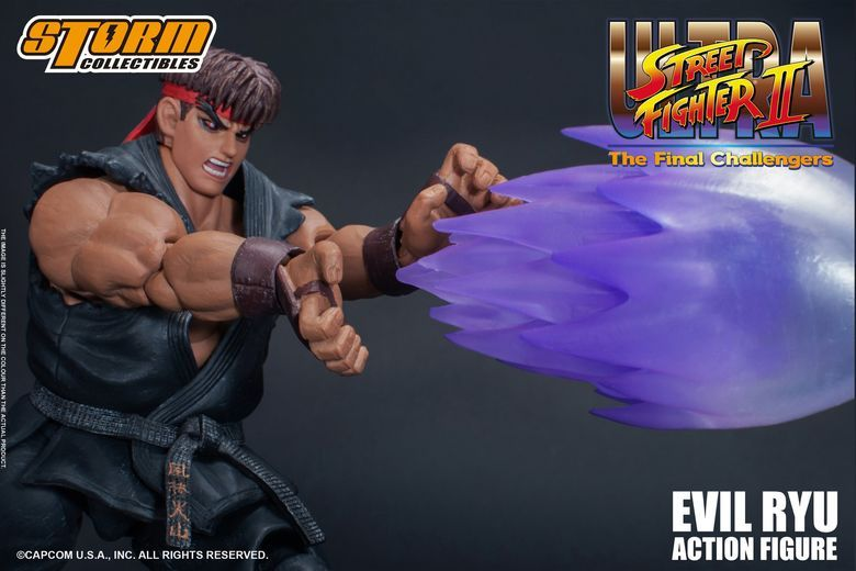 Ryu la finale Challengers Storm Collectibles Ultra Street Fighter II