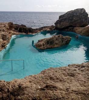Piscina natural in cala d 39 or piscina natural places i - Piscina natural mallorca ...