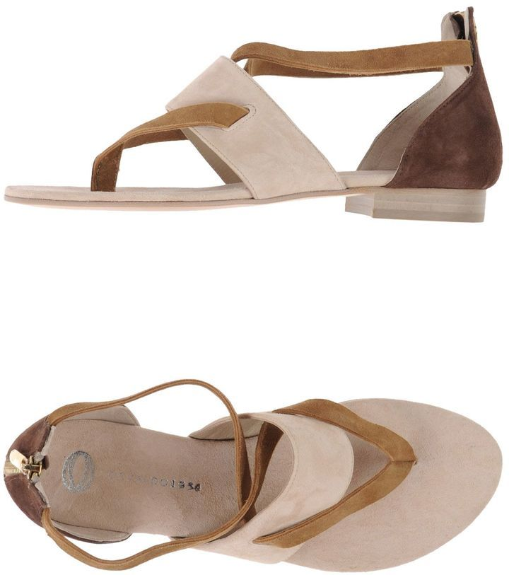 FOOTWEAR - Toe post sandals Osvaldo1956 Fashionable For Sale nnQK7QXh