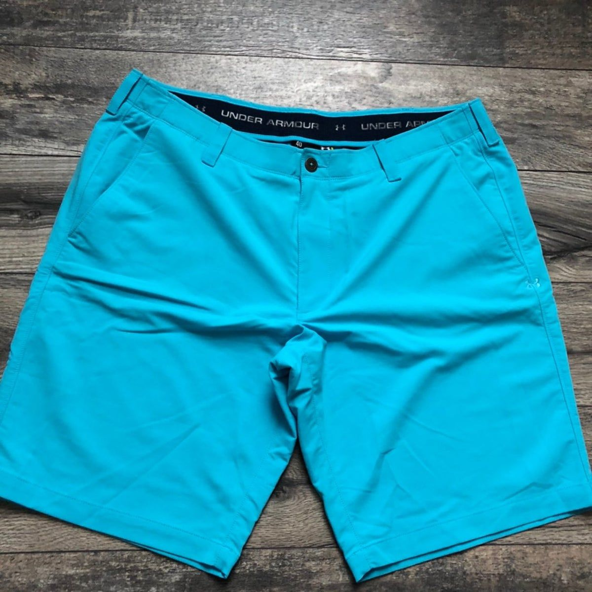 Under Armour light blue golf shorts #lightblueshorts