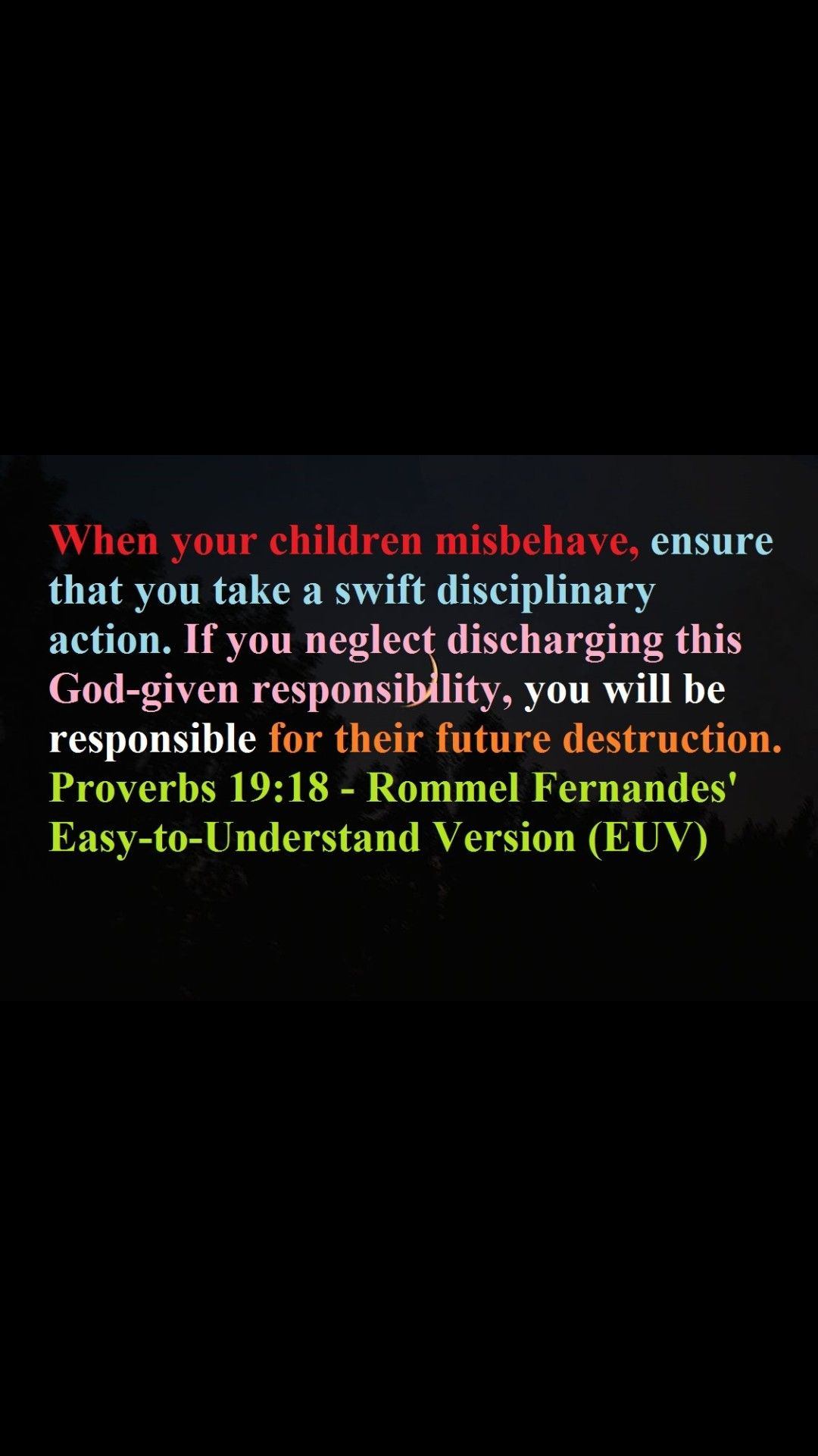 Proverb 19 18 Bible Knowledge Paraphrase Prov 14