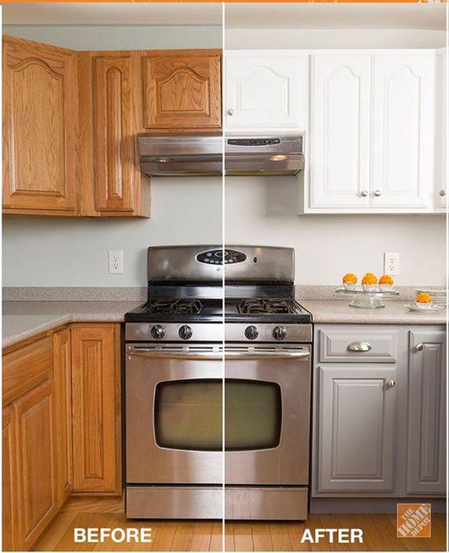 Uitgelezene Keuken opknappen met klein budget | Keuken pimpen, Keuken idee GJ-81