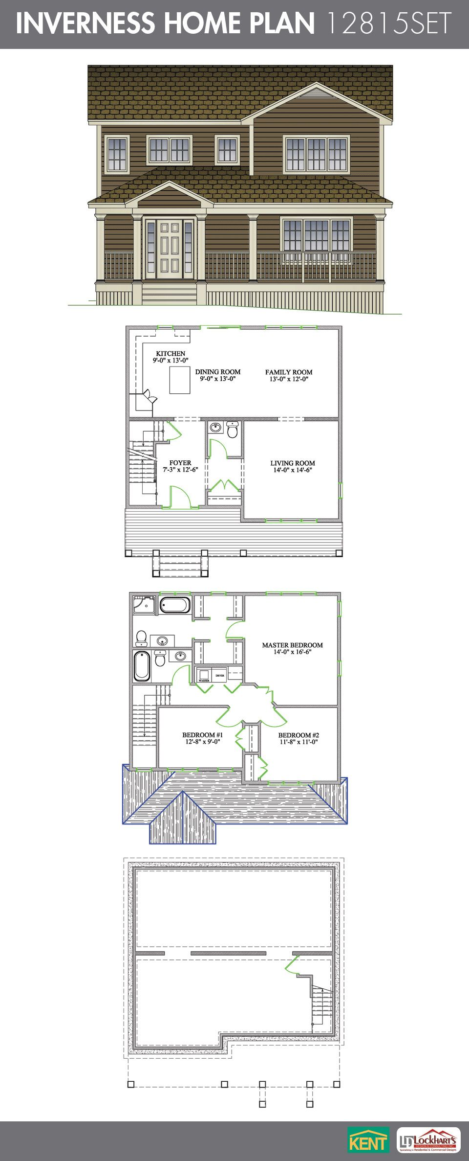 Inverness Home Plan House Plans Inverness Homes Kent Building