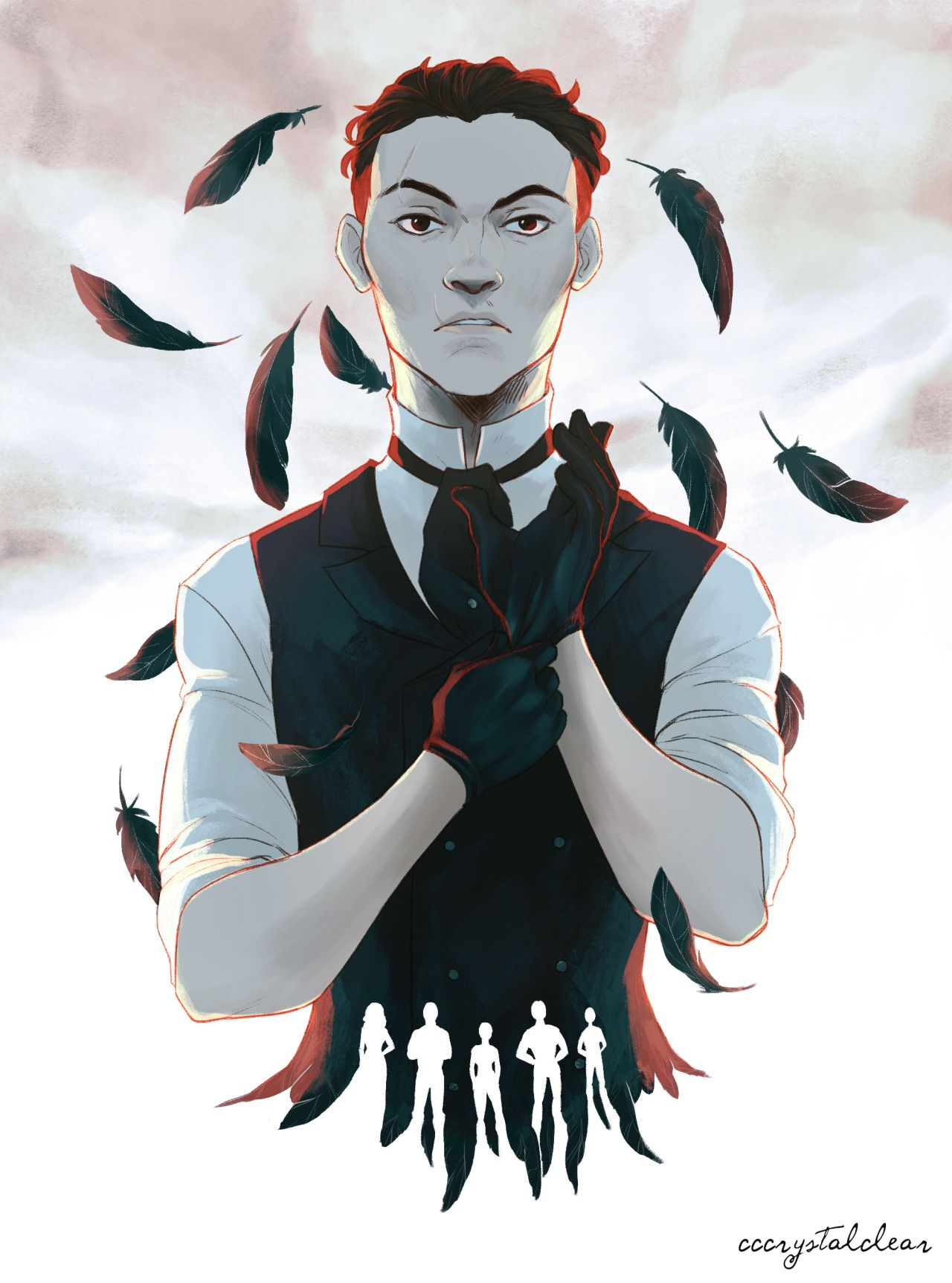 """@cccrystalclear.tumblr.com: """" Six of Crows was an awesome book, can't wait for the next one! """" Oh helllll yeah. """""""