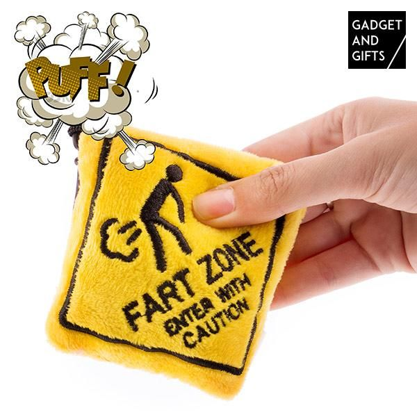 Fart Zone Gadget and Gifts Keychain