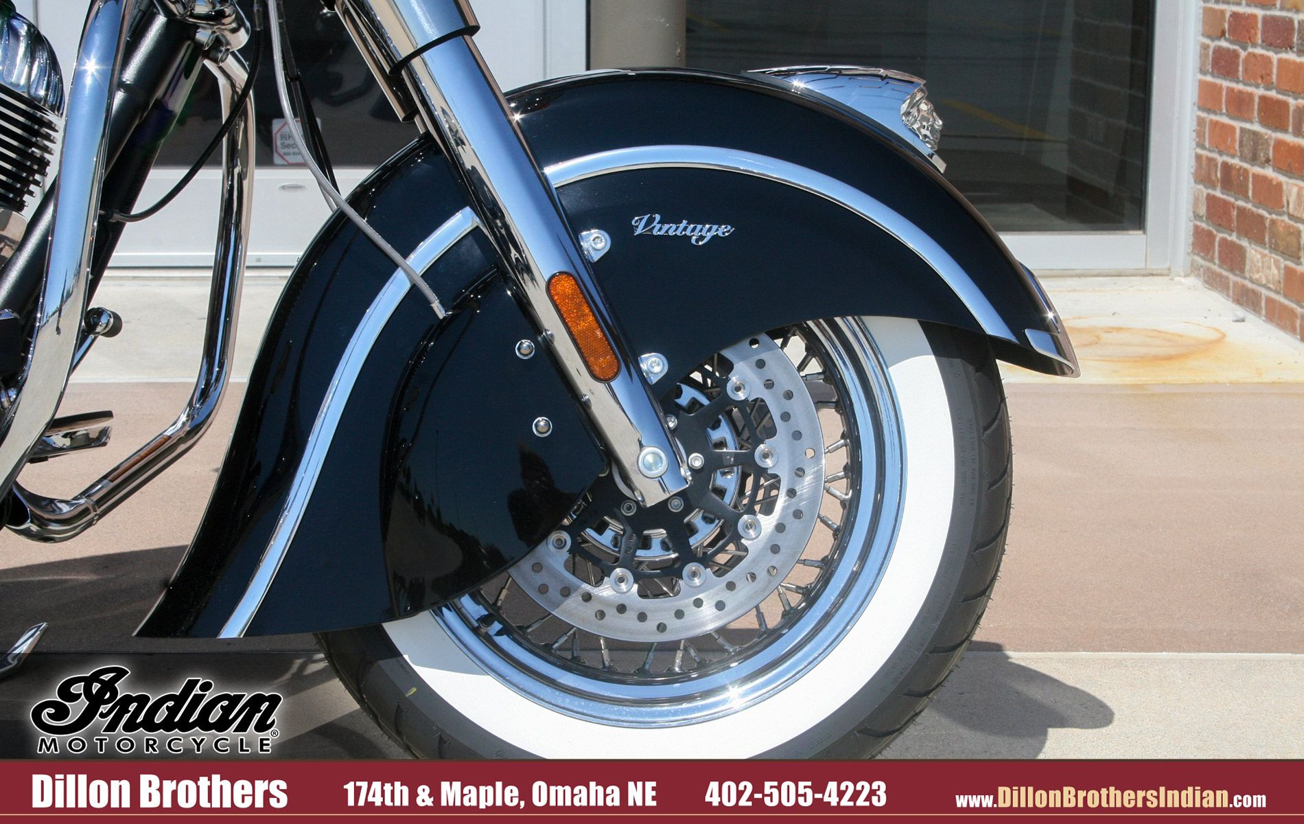 Nebraska Motorcycle Events 2020.Black Indian Vintage Front Fender And White Wall Tire Omaha