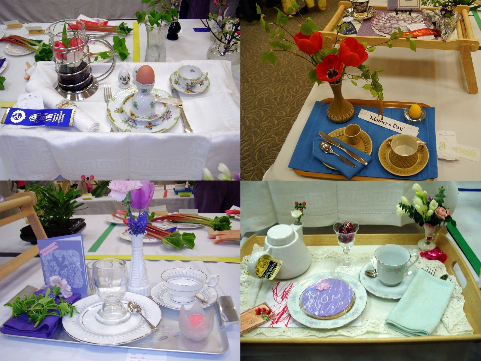 Flower Show Breakfast Trays  Google Search