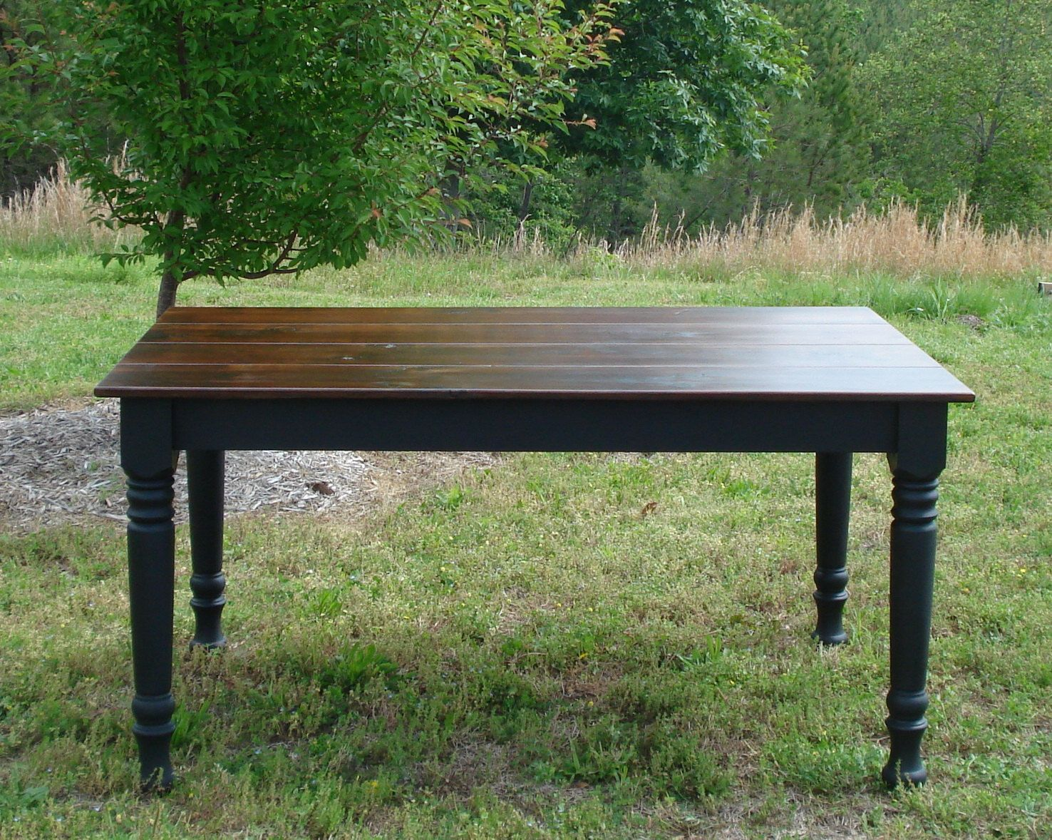 Black dining table custom dining room tables on etsy