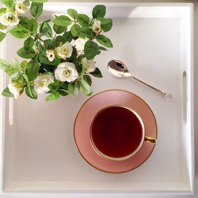 Afternoon tea break #home #diy #decorating #homeoffice #marthastewart #hbmystyle #homedecor #pink #hearthome