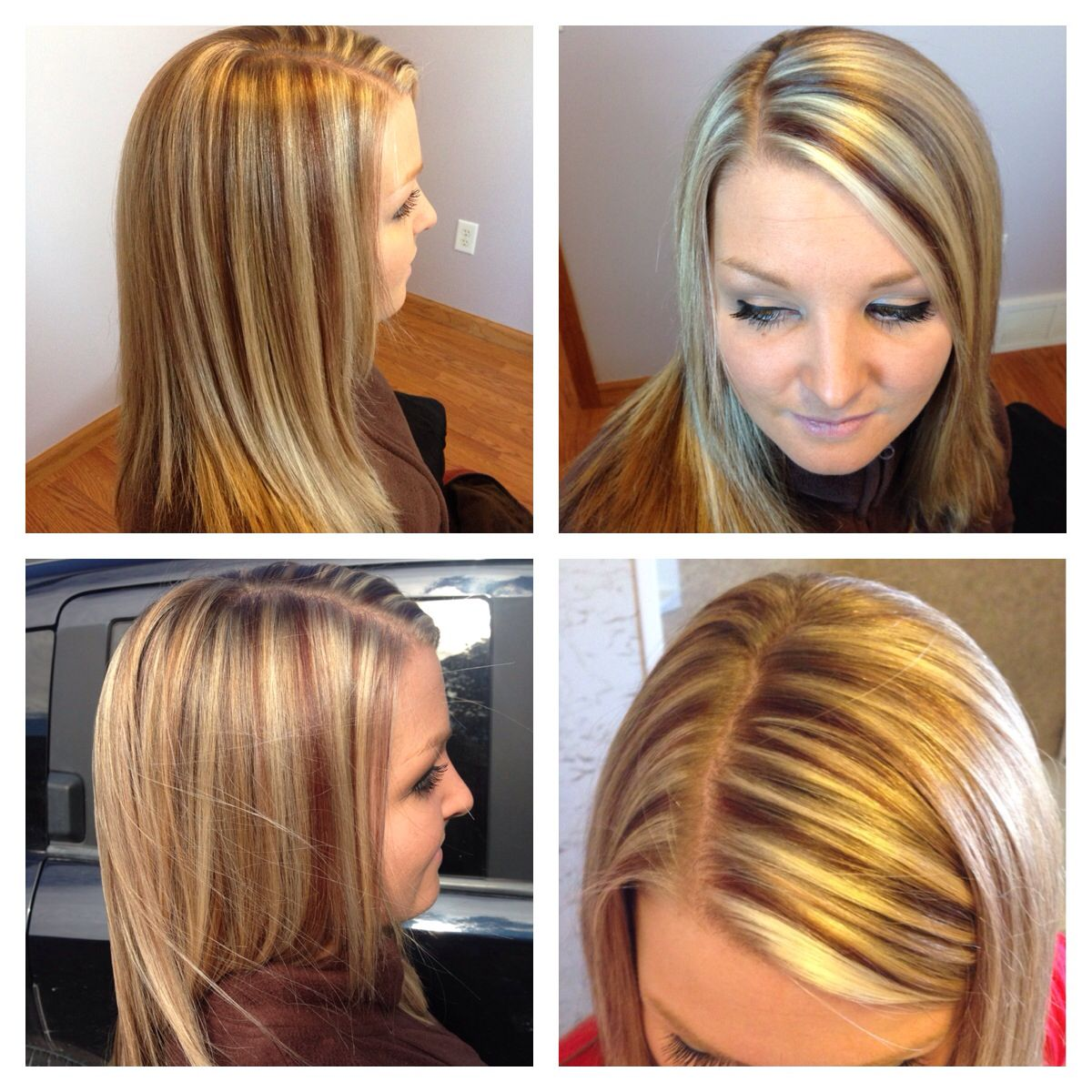 Highlight Lowlight Using Redken Flashlift With 20 Volume And Redken Color Fusions 6br 7bc With