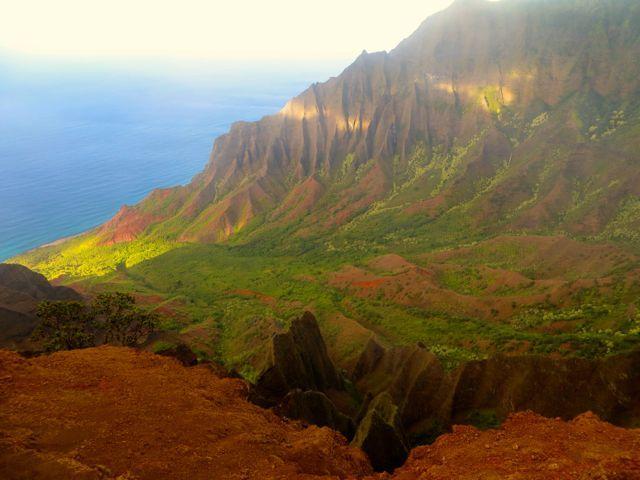 Napali Coast on Kauai #kauai #napalicoast