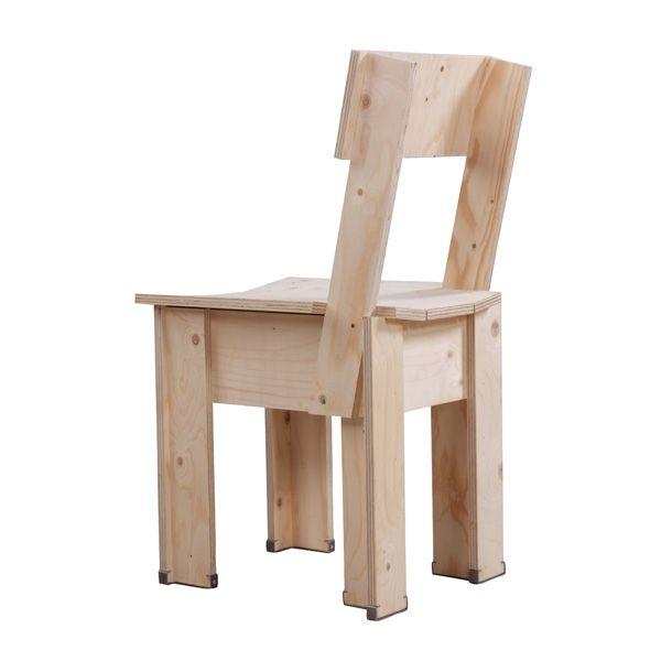 Crisis Chair  design: Piet Hein Eek    design: Piet Hein Eek