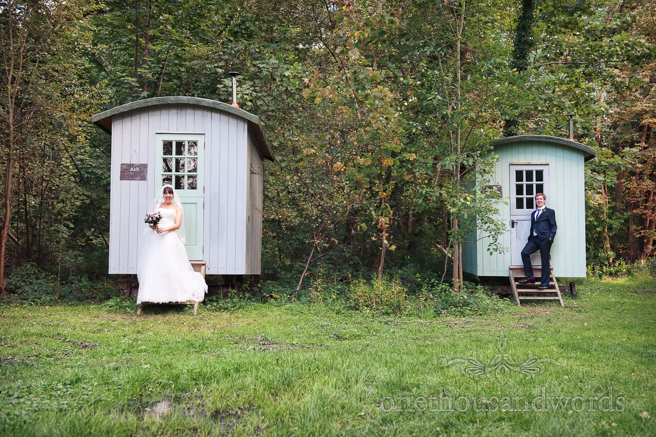 Wedding In The Woods Shepherds Hut One Thousand New Forest Hampshire Venues Grooms Forests Words