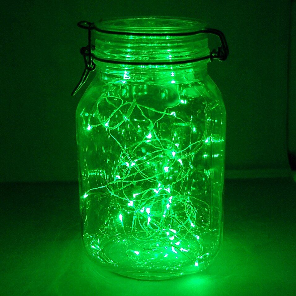 40-Count Led Waterproof Mini Fairy String Lights In Green (Set Of 2) - These revolutionary battery-operated Submersible String Lights are wonderful, vibrant LED lights ideal for adding a glimmering style to your home. Each strand has about 40 rice-sized lights along an ultra-thin waterproof wire.