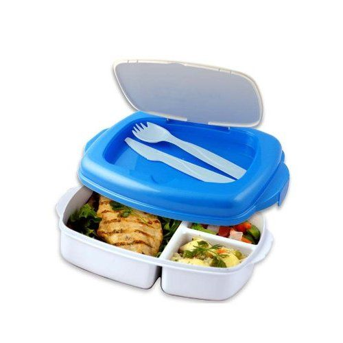 Amazon.com: Stay-Fit Lunch 2 Go Container, EZ Freeze: Kitchen & Dining