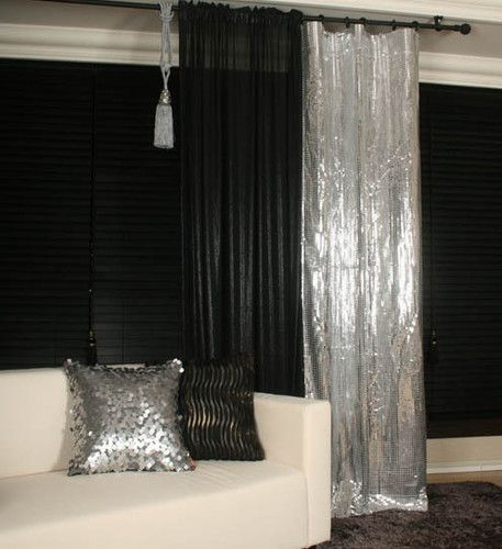 Metallic Curtain Drapery Panel Room Divider Handmade Order Made Curtain Luxury Living Room Design Master Bedrooms Decor Home Decor Bedroom