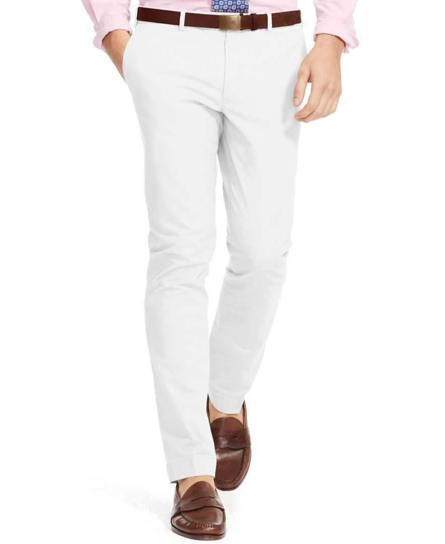 bfef4da951 Polo Ralph Lauren Slim-Fit Stretch-Chino Pant | Golf style | Ralph ...