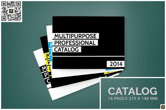 Multipurpose A5 Landscape Catalog by Shocky Design Studio on