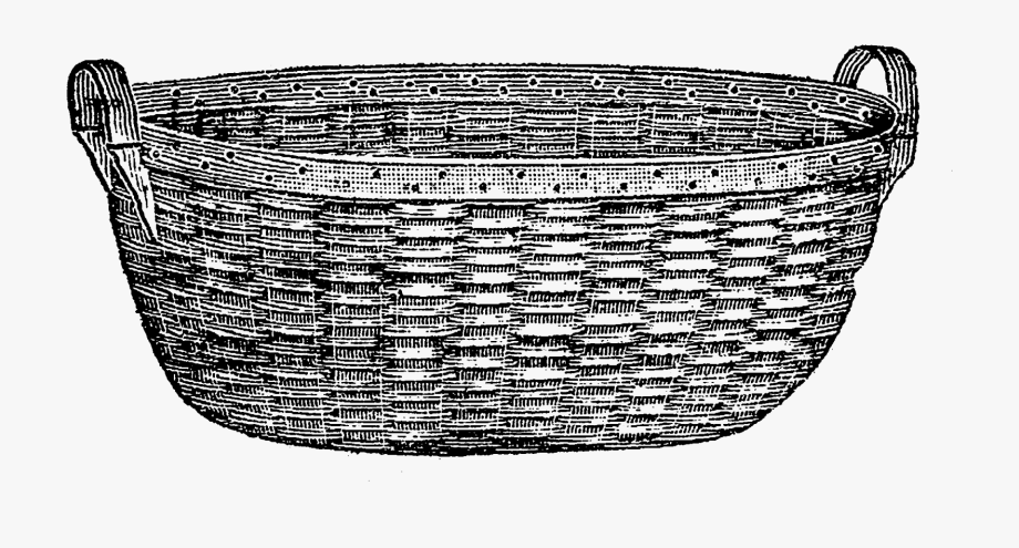 Download And Share Clip Art Stock Laundry Basket Clipart Black And White Vintage Laundry Basket Clip Art Ca Clipart Black And White Vintage Laundry Clip Art