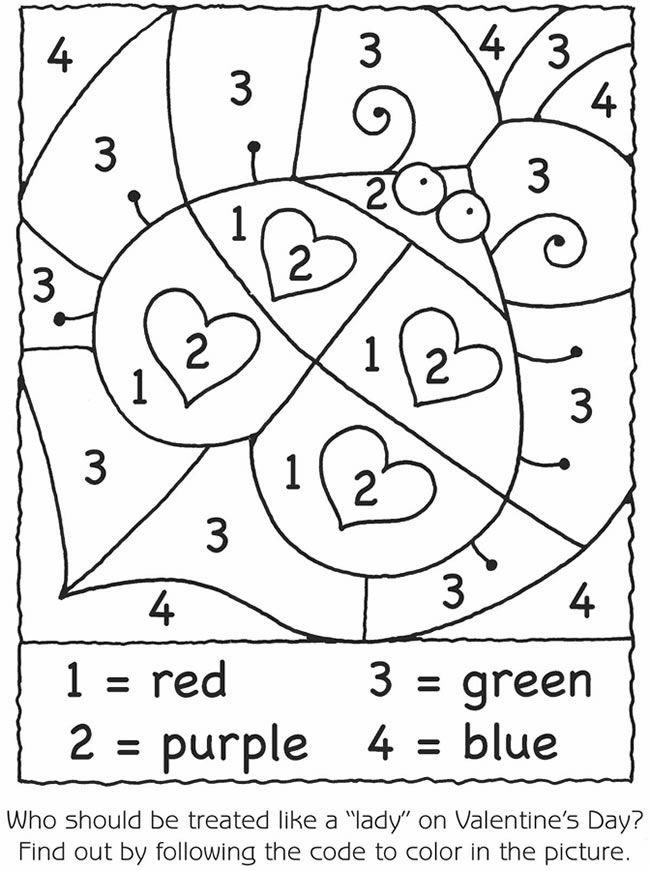 Arbeitsblätter Numbers Colours : Marienkäfer malen nach zahlen pinterest