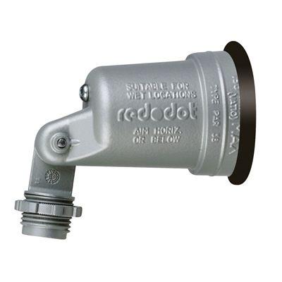 Reddot 1 Light 150 Watt 0 W Equivalent Gray Low Voltage