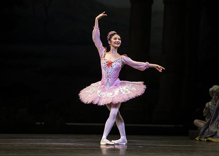 The Royal Ballet - Yuhui Choe as Aurora in The Sleeping Beauty. Photo: Emma Kauldhar by kind permission of the ROH