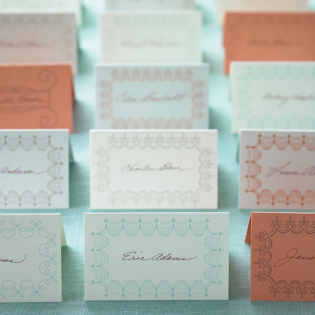 Download our place card templates. | beach wedding | Pinterest ...