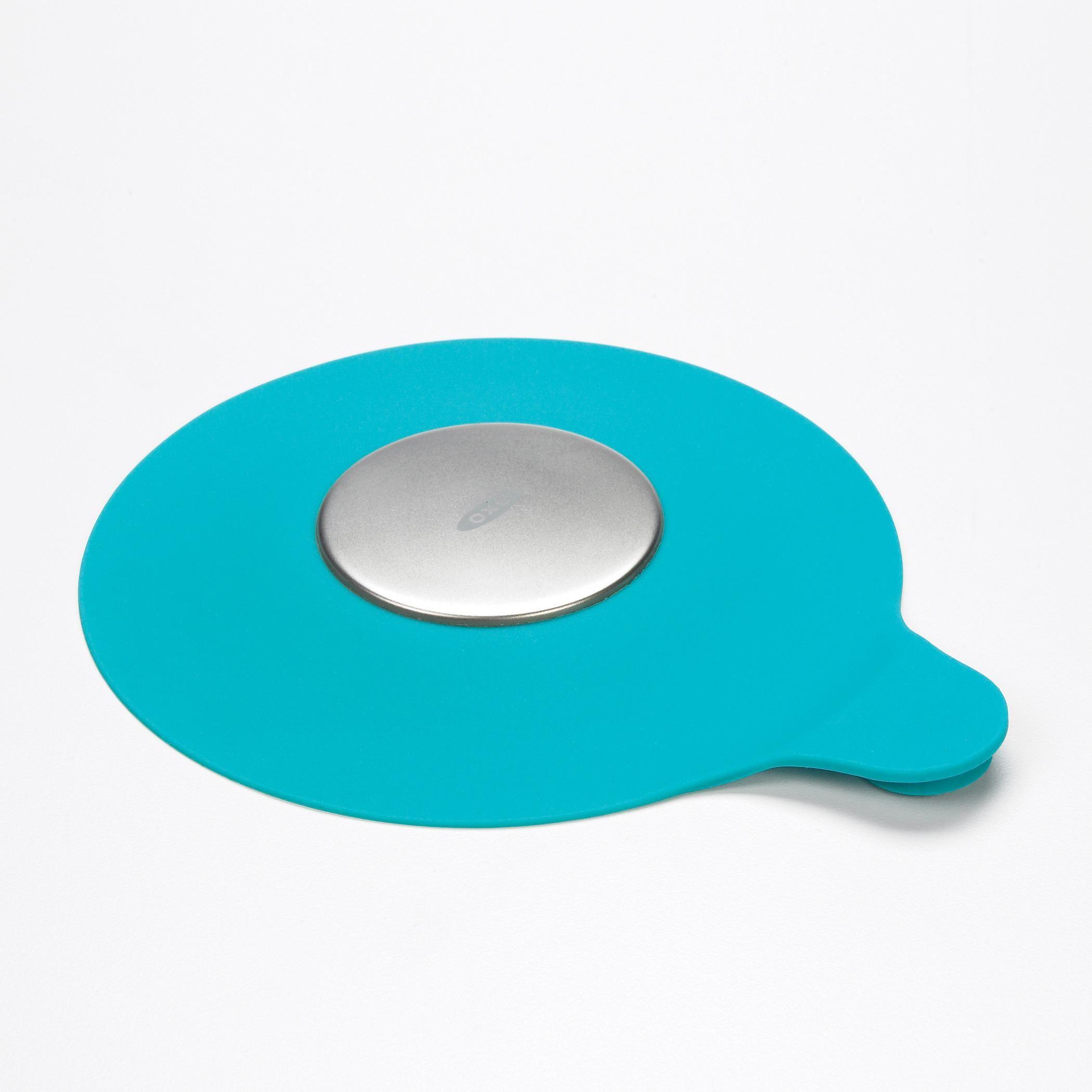 Amazon.com: OXO Tot Silicone Tub Drain Stopper- Aqua: Baby | Self ...