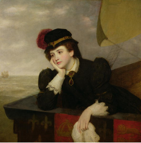 Mary Stuart, Queen of Scots, Returning from France, 1561, 1909 by William Powell Frith