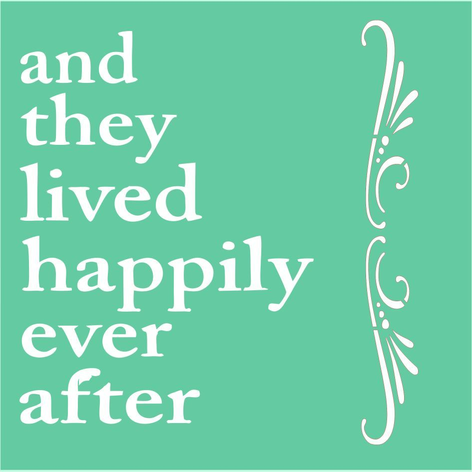 and they lived happily ever after - 945×945