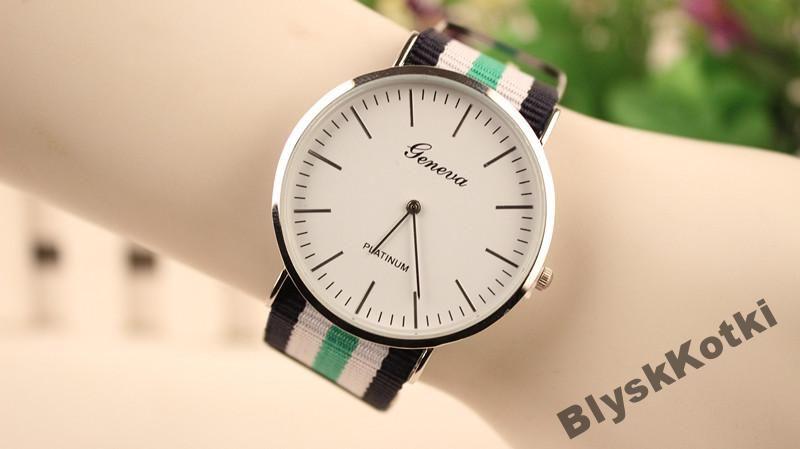 Zegarek Geneva Z Kolorowym Nylonowym Paskiem Z100 Daniel Wellington Items Accessories