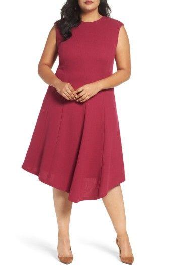 Aveena Wool Interlock Dress Amaryllis Lafayette 148 New York