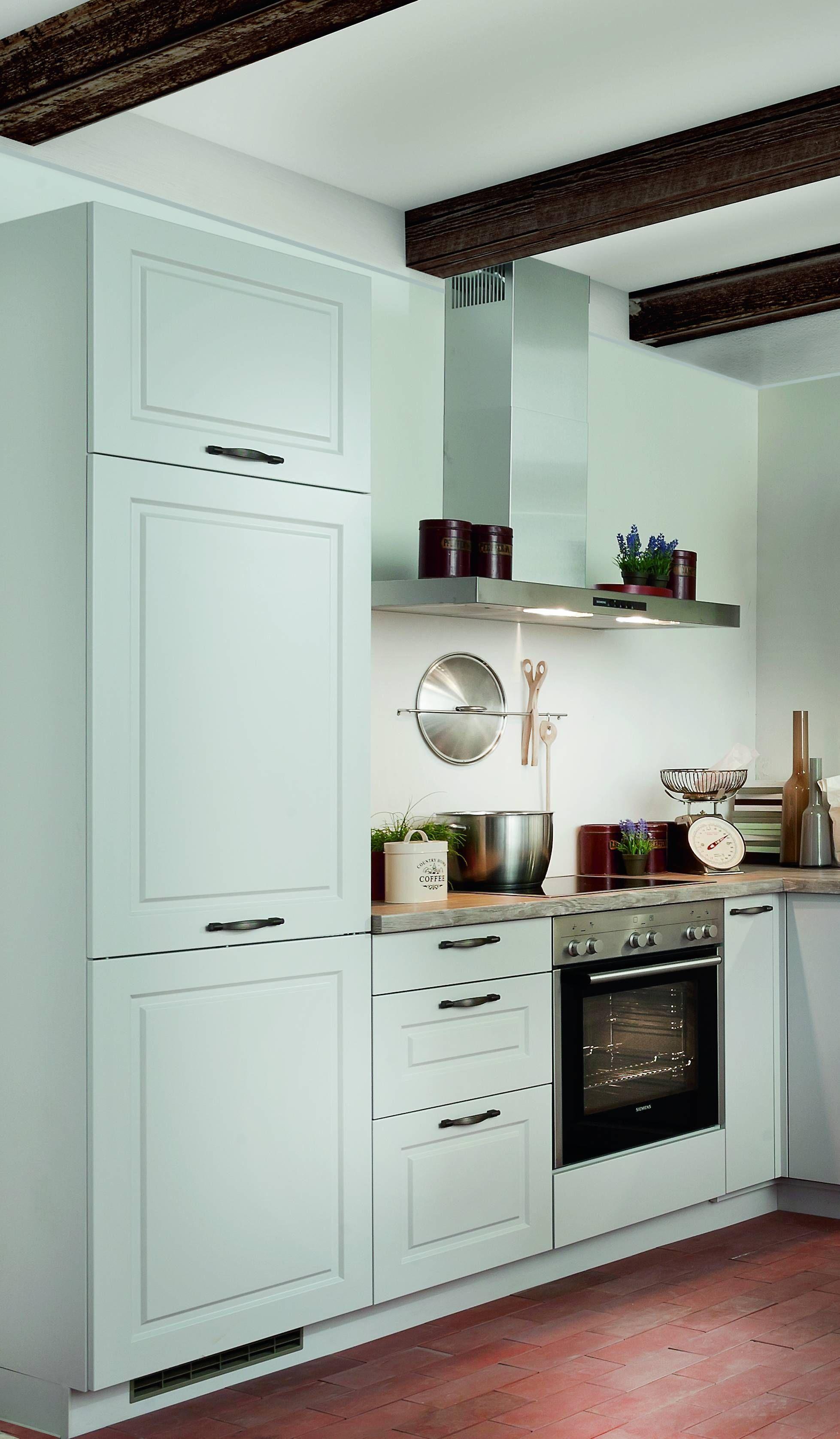 Einbauküche, Eckküche im Lanhausstil in der Farbe