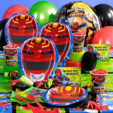 Power Ranger Party Supplies Power Ranger Birthday Party Supplies Power Ranger Party Supplies