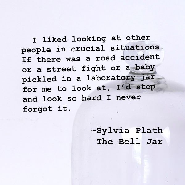the bell jar by sylvia plath essays It is important for everyone to discover who they are and identify their true self in the bell jar, by sylvia plath, the main character esther greenwood does not.