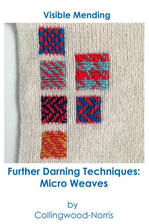 How to Darn a Sweater: An Introduction to Darning Knitwear. — Collingwood-Norris – Mending