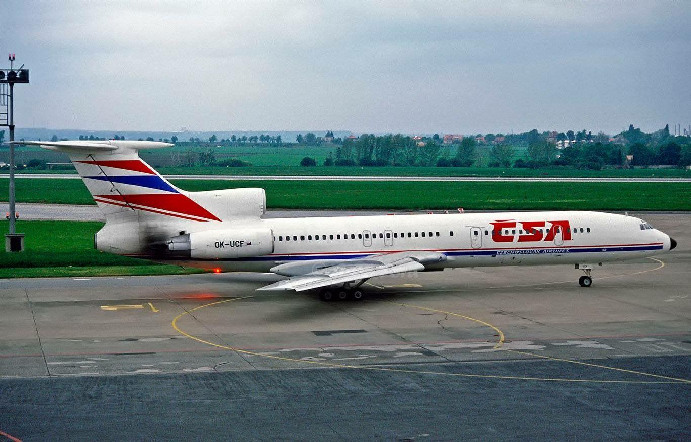 CSA Tupolev Tu154M OKUCF Prague. Commercial aviation