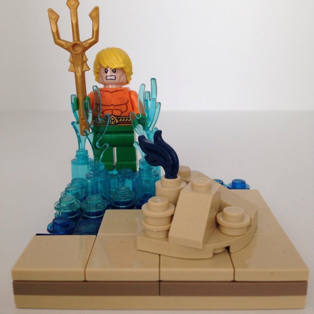 Aquaman lego legos legodc legomoc legobatman
